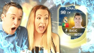 One of TWOSYNC's most viewed videos: TOTS RONALDO PACKED OMFFGGG!!! FIFA 15 PACK OPENING
