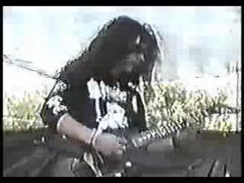 Cradle of Filth - the forest whispers my name - Live '94