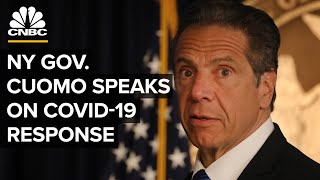 New York Gov. Andrew Cuomo holds a briefing on the coronavirus outbreak — 7/13/2020