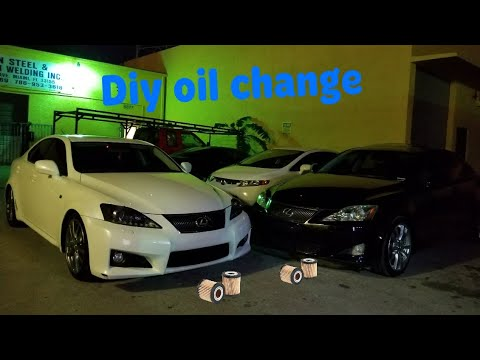 is250 oil change 2007