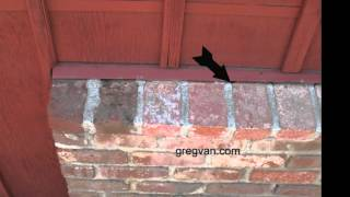 Problem Areas For Siding And Brick Wainscoting - House Construction