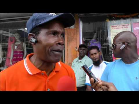 San Fernando to Port of Spain/Chaguanas/Curepe Taxi Drivers Protest, Jan. 8, 2016 - Trinidad