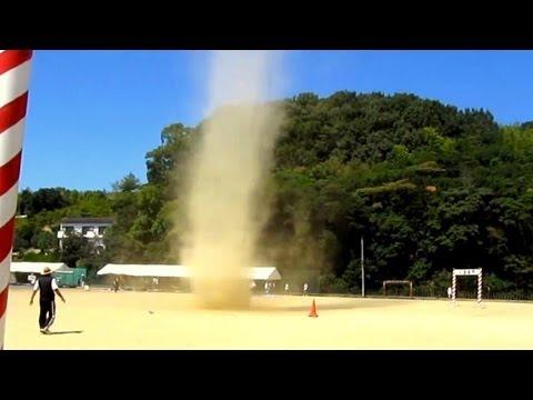 mini tornado at sports day!