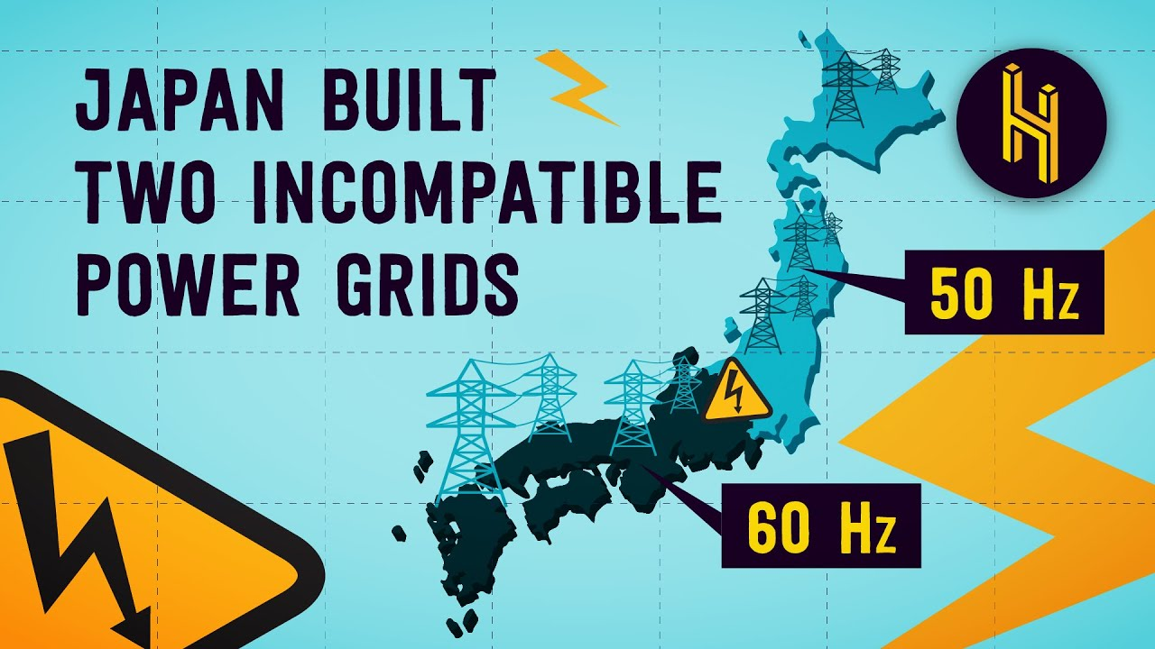Japan's Massive Mistake of Building Two Incompatible Power Grids