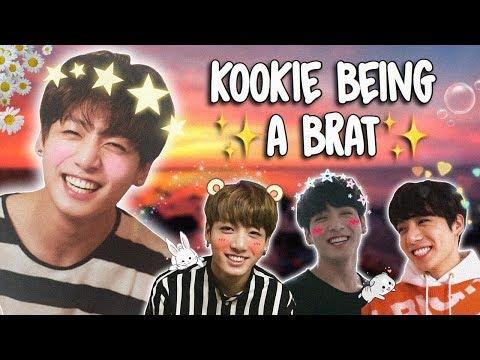 jungkook being a lil brat