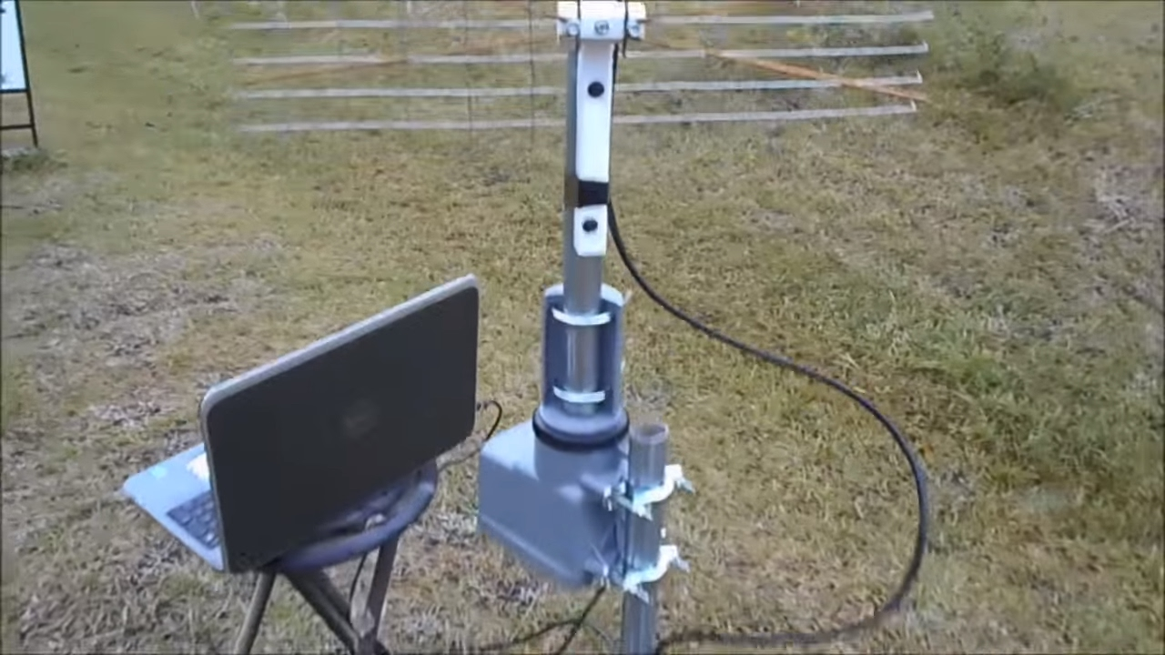 Antenna Rotor Wiring Diagram Tv Rotator Remote Tractor Alternator How To Install A Youtube