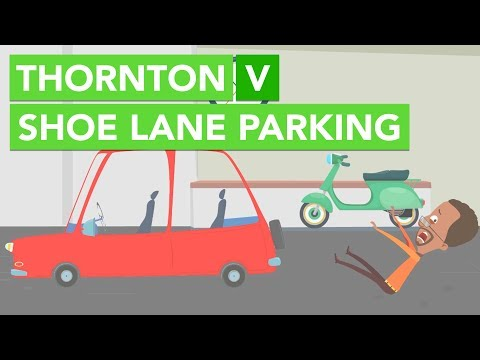 Thornton v Shoe Lane Parking | Exemption Clauses