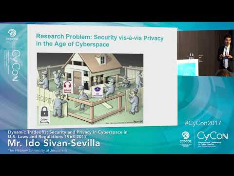 The Right to Privacy Online - CyCon 2017