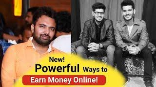 New! Secret & Powerful Ways To Make Money Online With  Manik & Pankaj Sharma | 2019