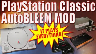 How to Mod a PS Classic with Autobleem!