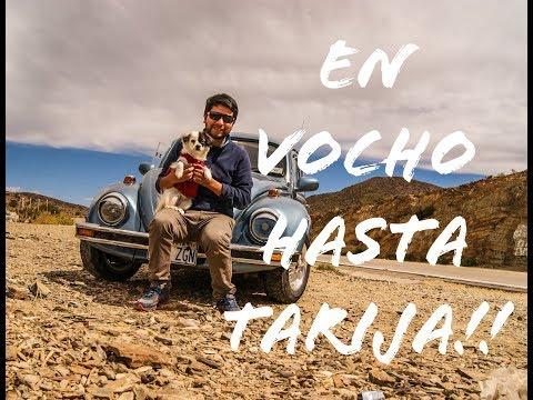 VOCHO..Viajando Sucre-Tarija (Bolivia) en mi vocho con mika!