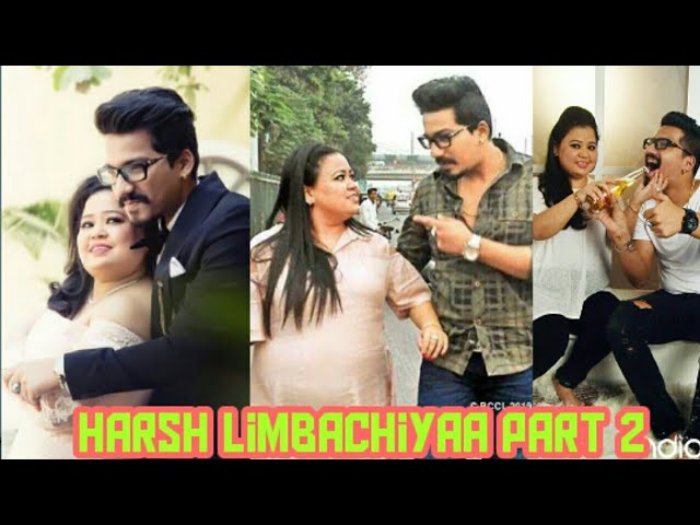 harsh limbachiyaa tiktok video with laughter queen bharti Singh - tiktok latest video - # Tiktok #2#