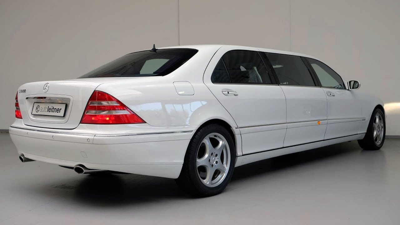 2001 Mercedes-Benz S600 Pullman vv220