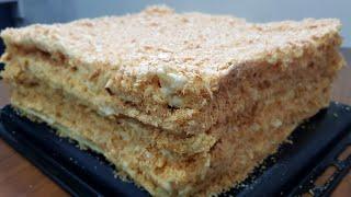 Классический Наполеон / Каватлари коп чикадиган Наполеон торти