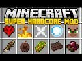 Minecraft SUPER HARDCORE MOD (Mod Showcase)