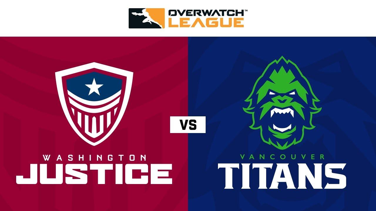 Playoffs Round 1B | @Washington Justice vs @VancouverTitans | Playoffs Week 1 | NA Day 1