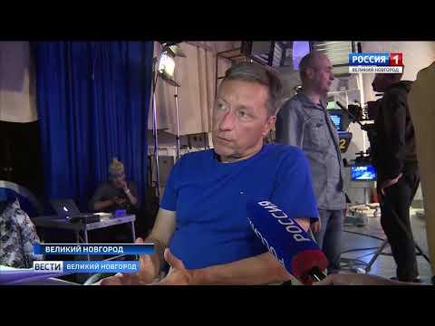 ГТРК СЛАВИЯ Съемки сериала Паромщица в студии Вестей 10 09 19
