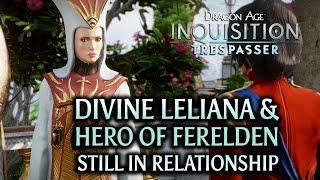 Dragon Age: Inquisition - Trespasser DLC - Divine Leliana & Hero of Ferelden still in relationship
