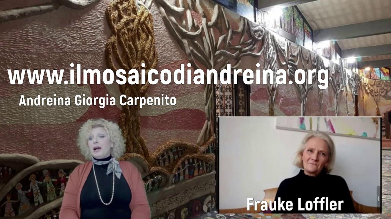 Storie del mosaico: intervista con la mosaicista Frauke da Stoccarda