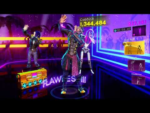Dance Central 3 DLC - Say Aah (Hard) - Trey Songz ft. Fabolous - Gold Stars