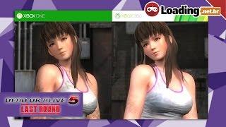 Dead or Alive 5  (+16) - Comparação Gráfica - Xbox One VS Xbox 360 (Graphics Comparison)