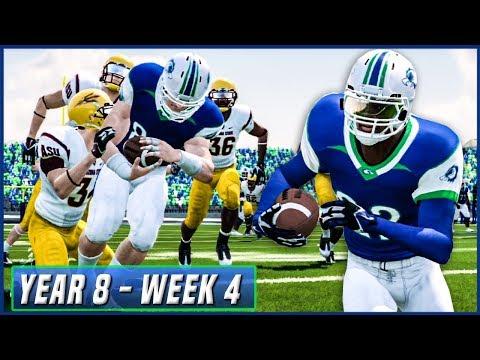 KALISPELL'S FIRST PAC-12 GAME | NCAA Football 14 Dynasty Year 8 - Week 4 vs Arizona State | Ep.134