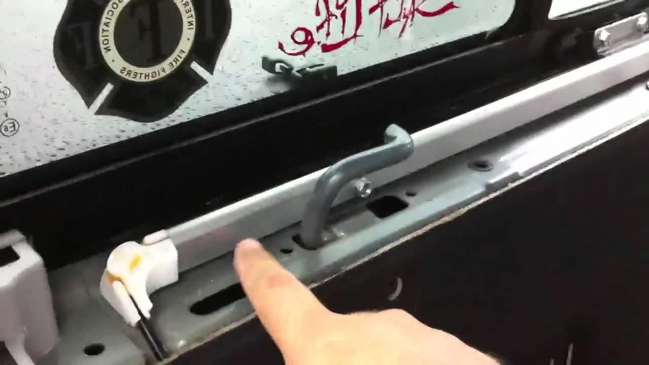 2006 Honda Ridgeline Rear Power Window Repair Youtube