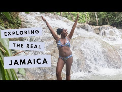VLOG   Exploring The REAL Jamaica - Ocho Rios, Dunn's River, Blue Mountains   Kristabel