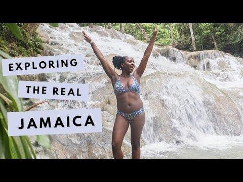 VLOG | Exploring The REAL Jamaica - Ocho Rios, Dunn's River, Blue Mountains | Kristabel