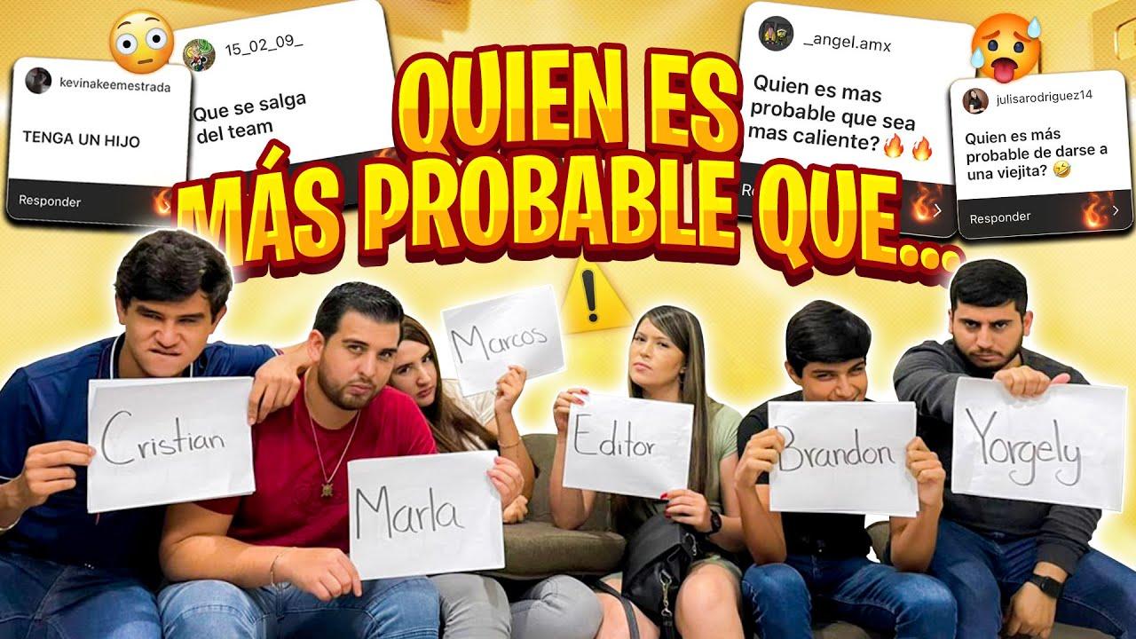 QUIEN ES MAS PROBABLE QUE? //Marcos Gton