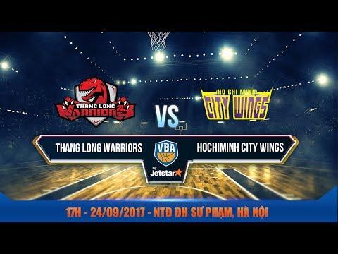 #Livestream || Game 14 : Thang Long Warriors vs Hochiminh City Wings  24/09 | VBA 2017 by Jetstar
