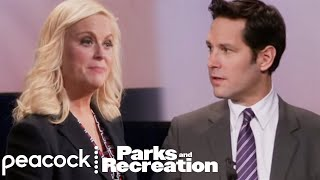 Leslie vs. Bobby: Pawnee City Council Debate - Parks and Recreation