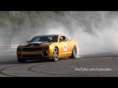 Chevrolet Camaro Ss Zl585 Supercharged Burning Rubber