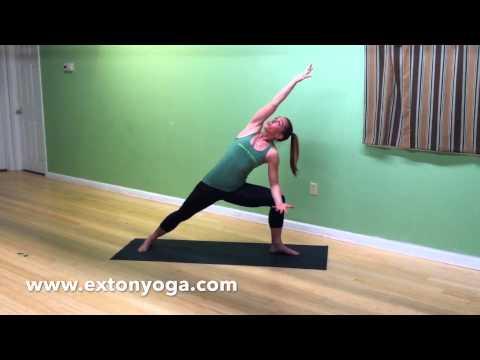 exton power yoga  bird of paradise vinyasa yoga  youtube