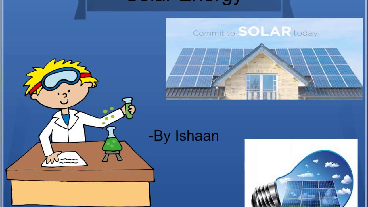 Solar energy for kids school project on sustainability for Solar energy projects for kids