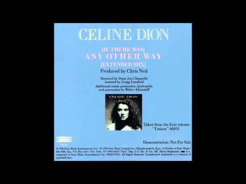 Celine Dion - (If There Was) Any Other Way [Extended Mix] [CD Single] [HQ]