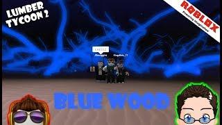 Roblox - Lumber Tycoon 2 - Blue Wood, Logic e Link?