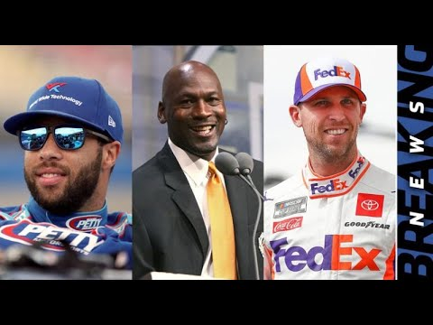 Michael Jordan, Denny Hamlin partner to form NASCAR team for ...