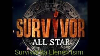 Survivor 2017 'de Kim Elendi?  Elenen İsim Belli Oldu. 7 Mart 2017