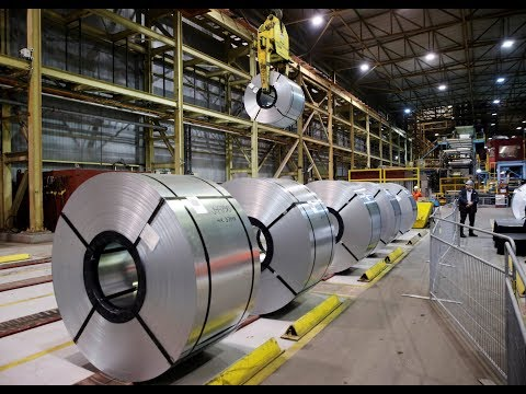 U.S. imposes steel tariffs on Canada and Mexico