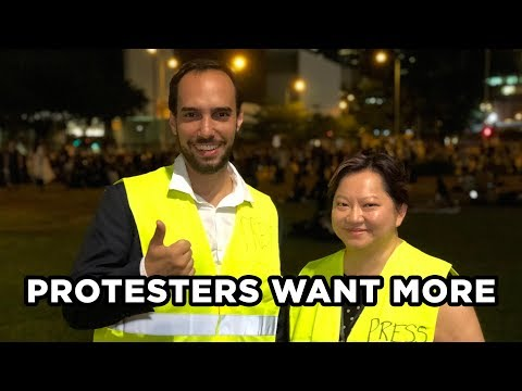 LIVE IN HONG KONG 4: Protesters Demand Dialogue with Carrie Lam