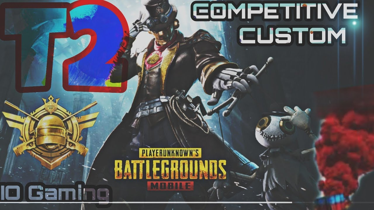 BR1 T2 Customs Live IQOO 3 Pubg Mobile II HDR EXTREME II IO Gaming