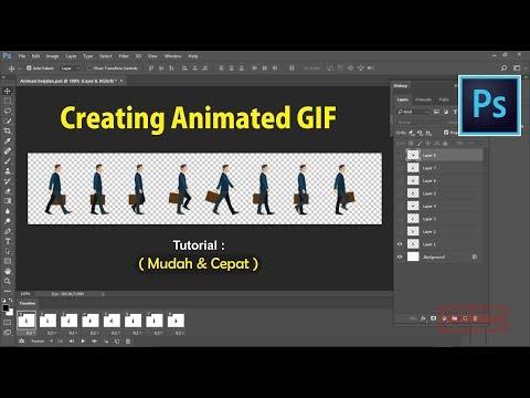 Cara Mudah Membuat Animasi GIF Dengan Photoshop CS6