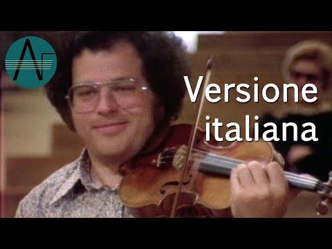 ltzhak Perlman: violinista virtuoso, So che suonai ogni nota - Documentario del 1978