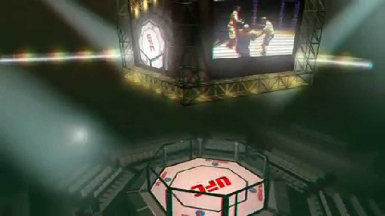 Stereo 3d Ufc Arena Octagon Yt3d Enabled True Youtube