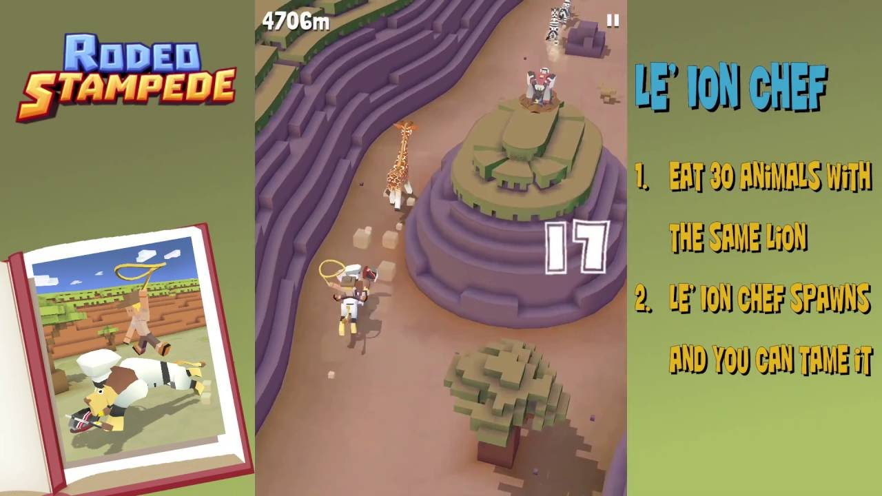Rodeo Stampede How To Get The Le Ion Chef Secret