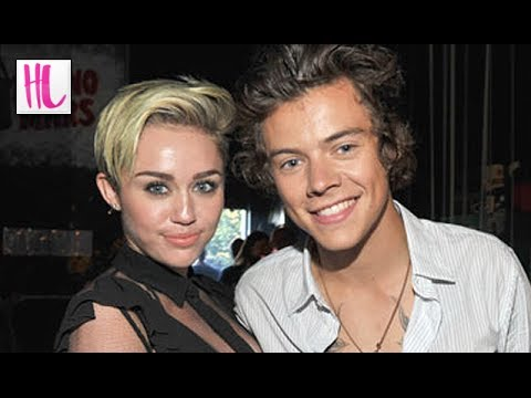Harry Styles Crushing On Miley Cyrus