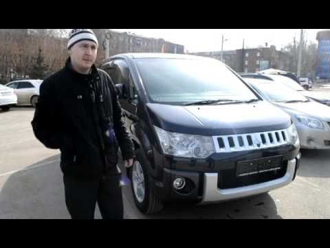 Mitsubishi Delica - минивэн внедорожник - YouTube