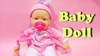 Baby Doll Crying My Dolly Sucette From Loko Toys ★ New Baby Born Doll Video For Kids Worldwide