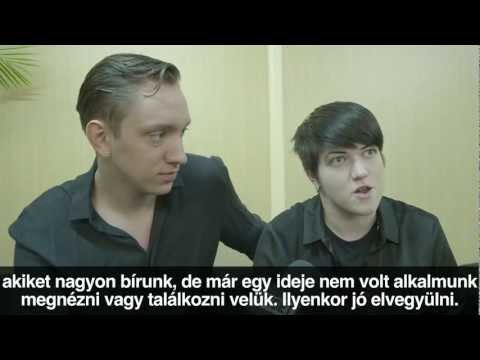 The xx interview @ Sziget 2012